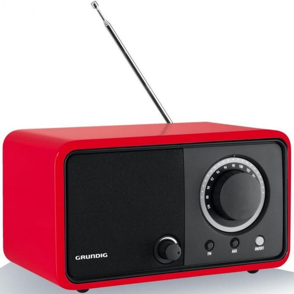Grundig TR1200 Glossy Red