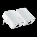 Tp-link Ser till att du får trådbundet nätverk via ditt befintliga elnät.
