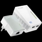 Tp-link TL-WPA4220KIT AV 500 WiFi Powerline Extender Starter Kit