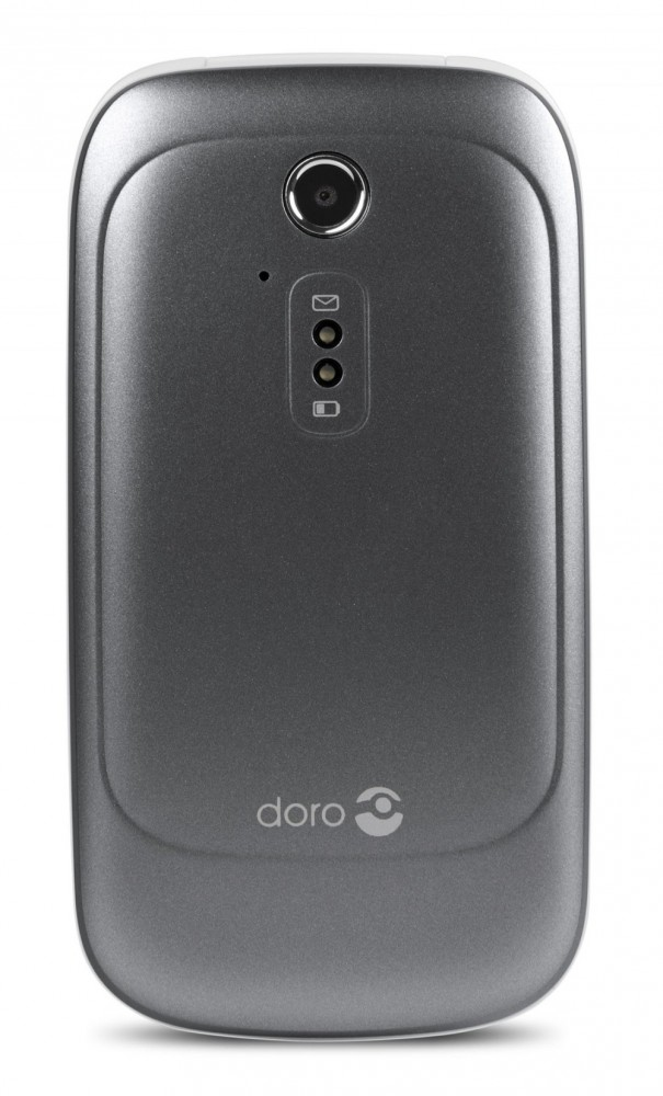 Doro 6521 Grå/Vit
