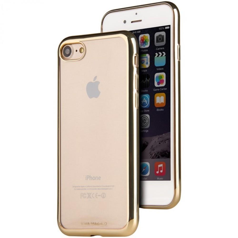 Viva Madrid Metalico Flex för iPhone 7/8 Guld