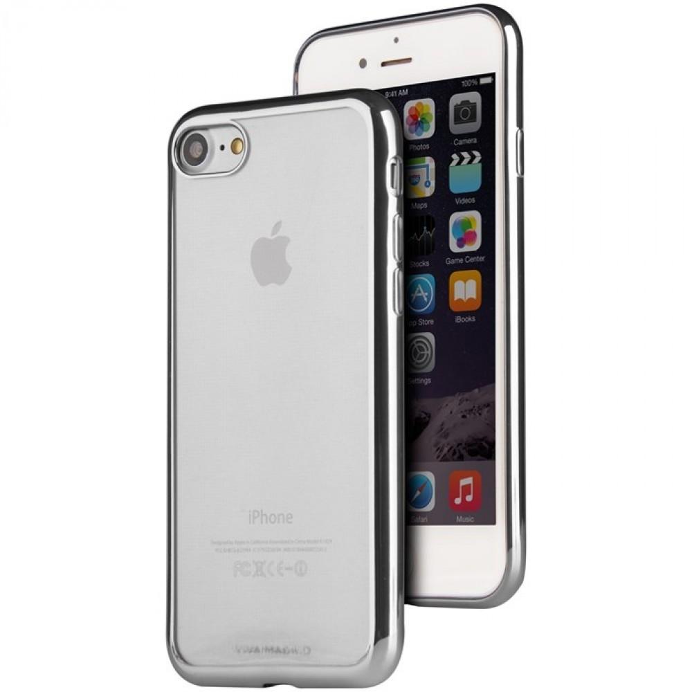 Viva Madrid Metalico Flex för iPhone 7/8 Silver