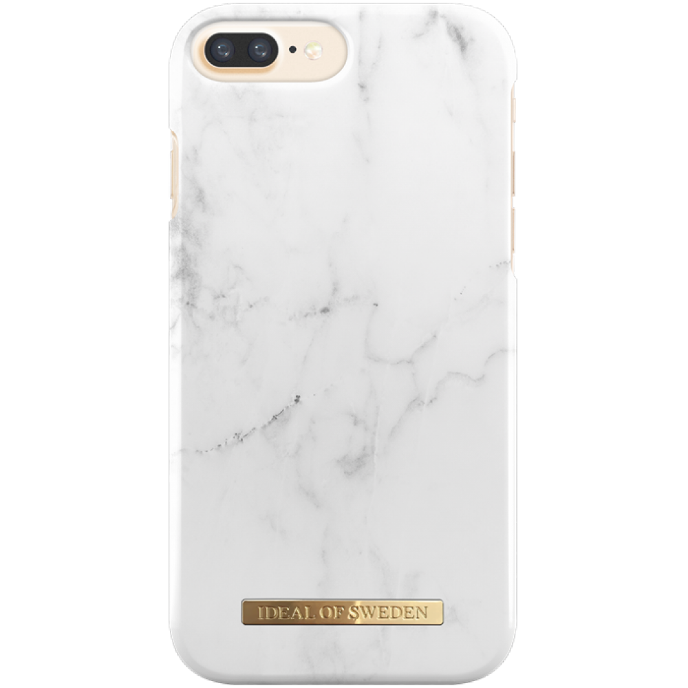 ideal of sweden case white marble f r iphone 7 8 plus teleradio. Black Bedroom Furniture Sets. Home Design Ideas