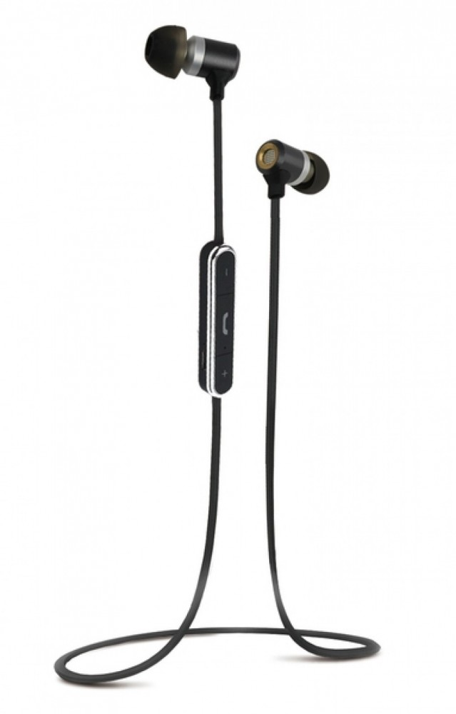 Vivanco Bluetooth resehörlurar med mikrofon metallic