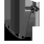 JBL T290 Svart