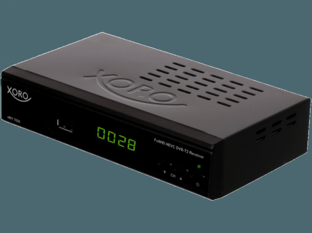 Netatmo DVB-T2 mottagare Xoro HRT 7620
