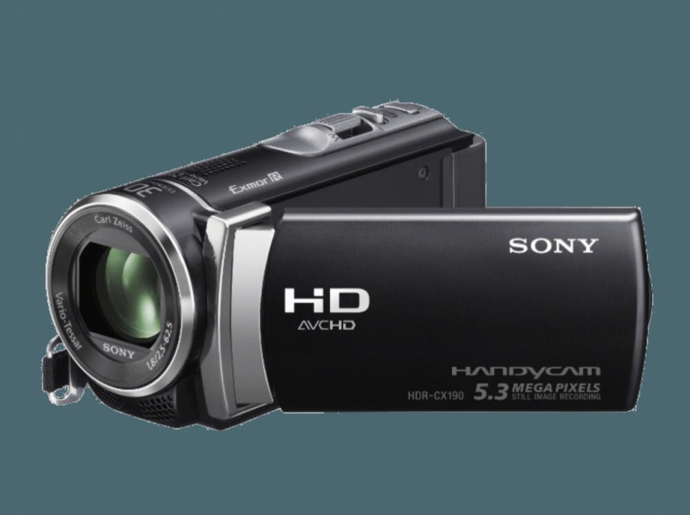 Sony HDRCX450 - Svart