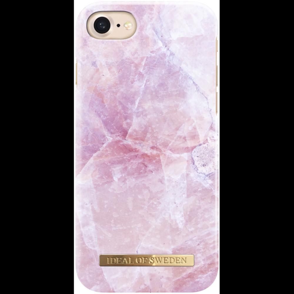 iDeal of Sweden Case Pilion Pink Marble för iphone 6/6S/7/8