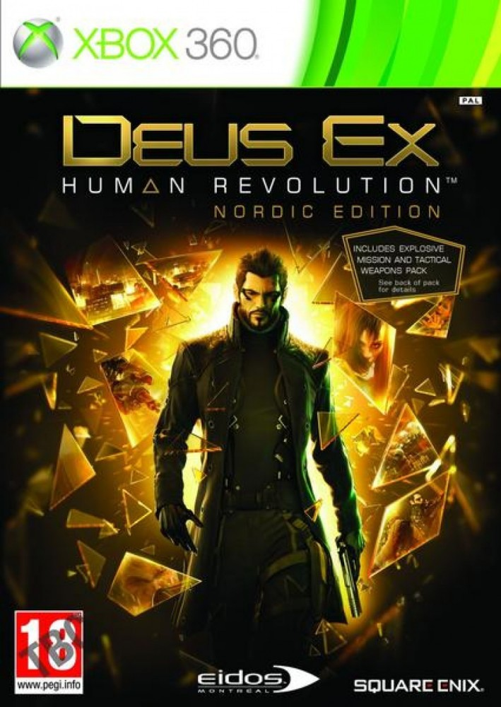 Bjurab DEUS EX:HUMAN REVOLUTION XBOX360