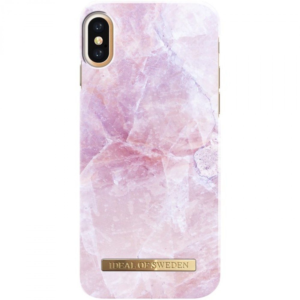 iDeal of Sweden Case för iPhone X Pink Marble