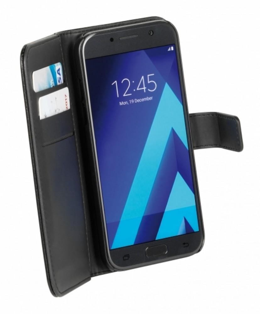 Vivanco Galaxy A5 (2017) Plånboksfodral magnetlås, svart