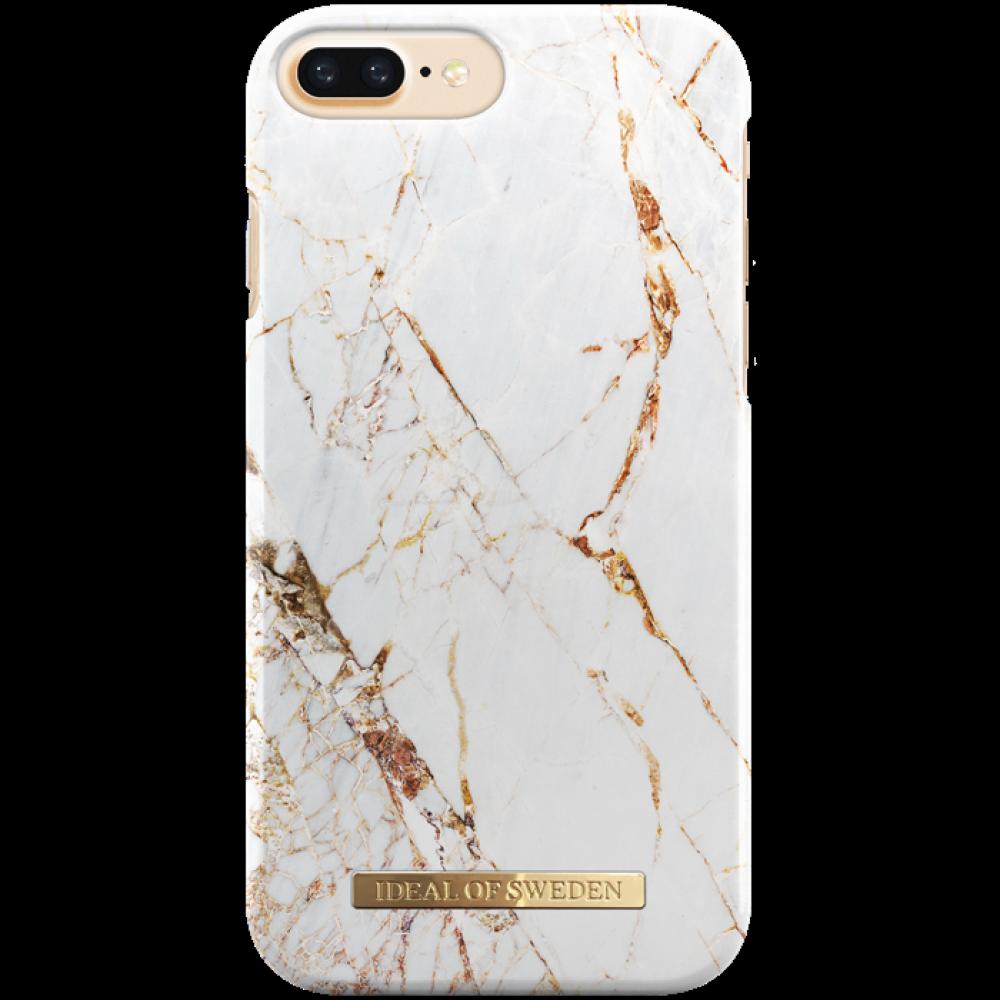 iDeal of Sweden Case Carrara Gold för iphone 6/6S/7/8 PLUS