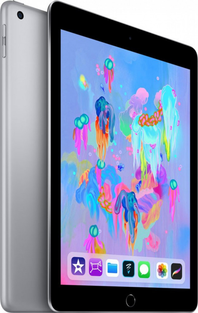 . iPad (2018) Wi-Fi+Cell 32GB Svart