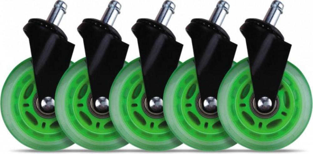 L33T Gaming Casters, Universal Grön