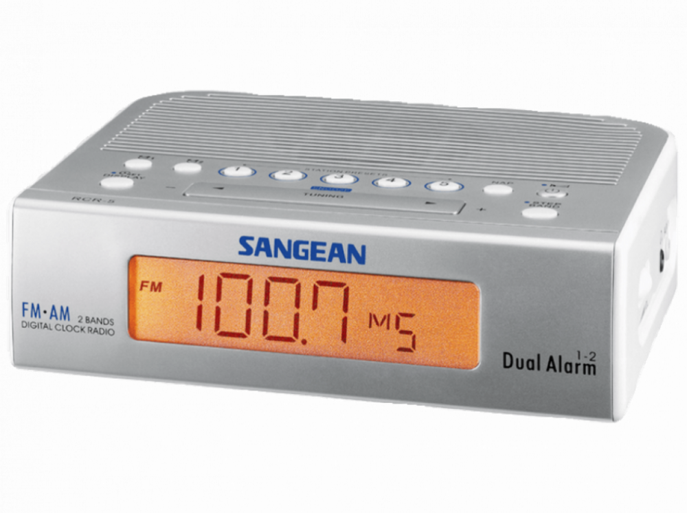 Sangean RCR-5 Silver/Vit