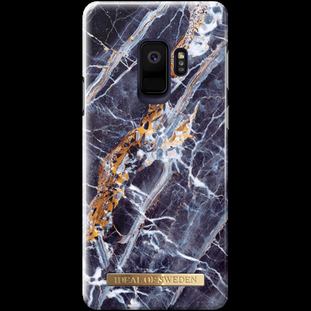 iDeal of Sweden Midnight blue marble för Galaxy s9