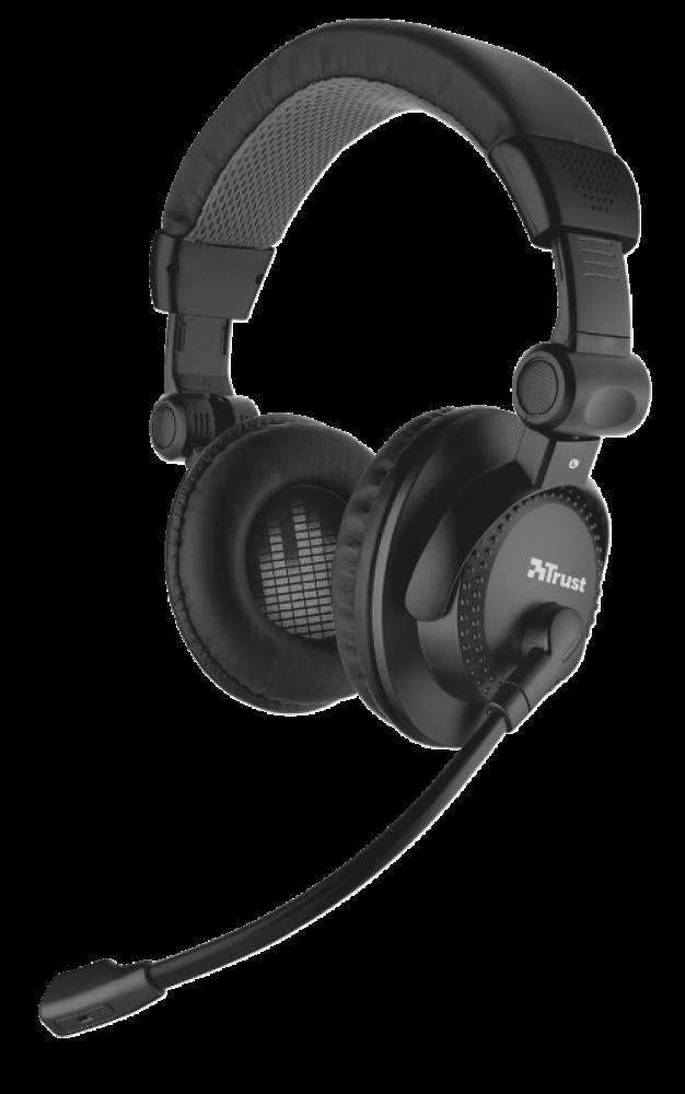Trust Como Headset Headset fullsize stereo