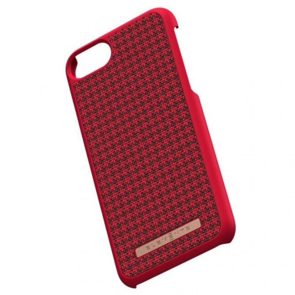 Elements Idun Skal iPhone 6/7/8 Röd