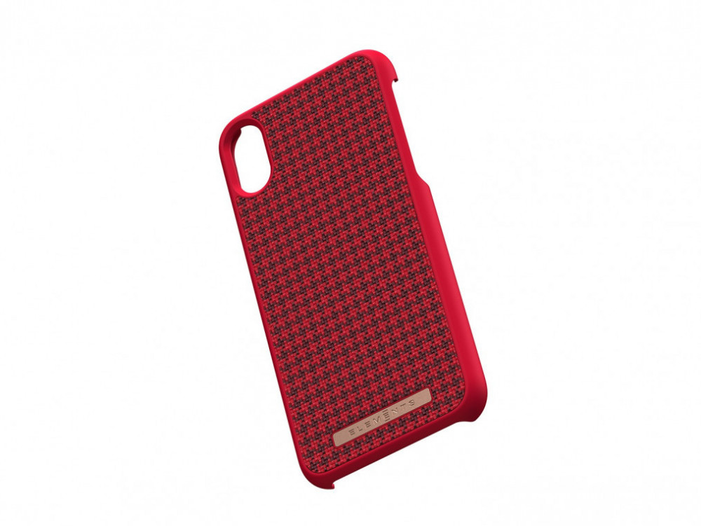Elements Idun Skal iPhone XR Röd