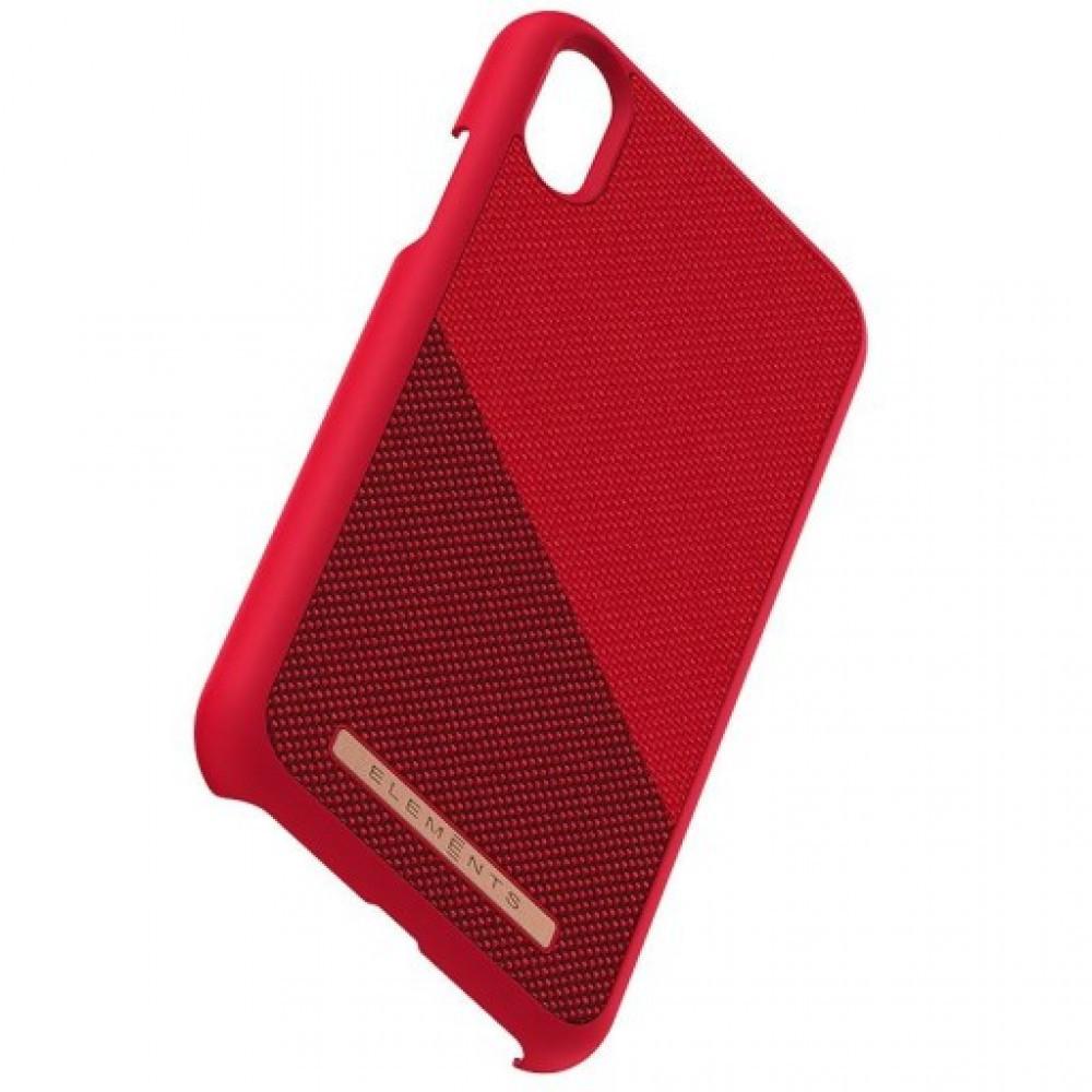 Elements Freja Skal iPhone XR Röd