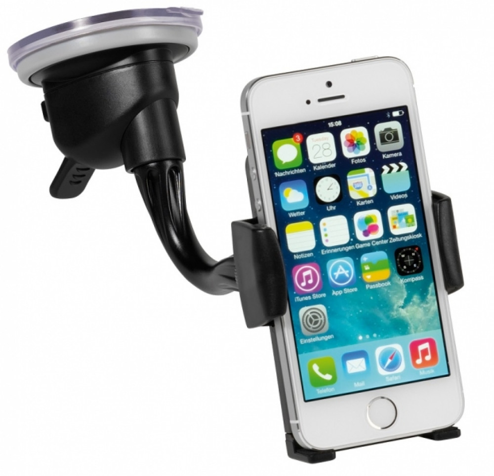 Vivanco Universellt mobiltelefonhållare för vindrutan
