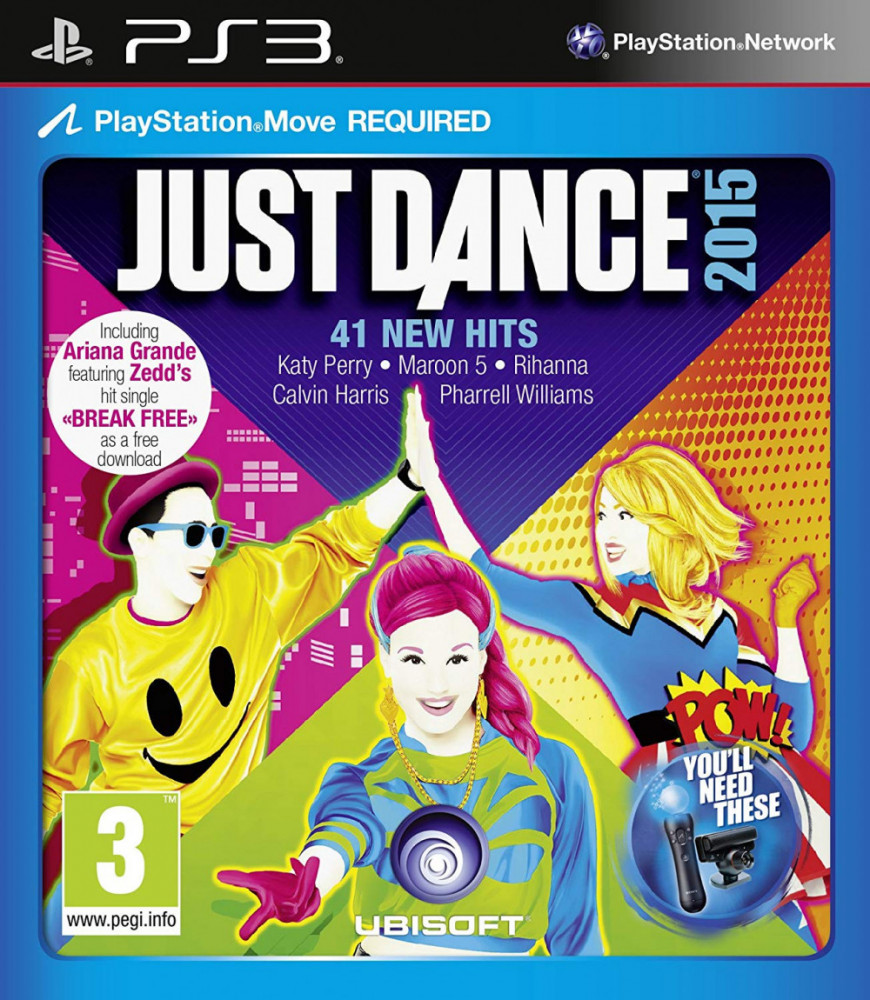 . JUST DANCE 2015 PS3