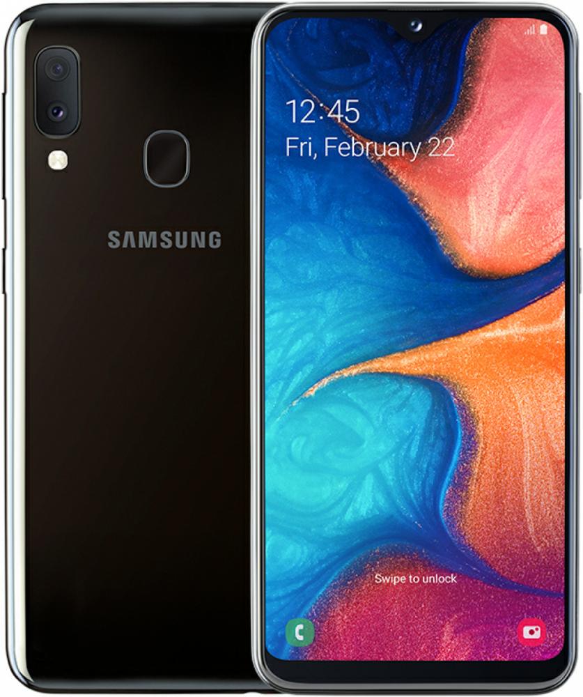 Samsung Galaxy A20e Svart