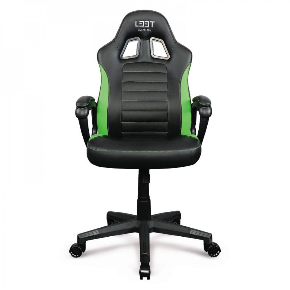 L33T Gaming Encore Gamingstol - grön