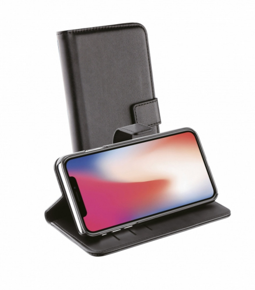 Vivanco Plånboksfodral till iPhone 11 Pro Svart