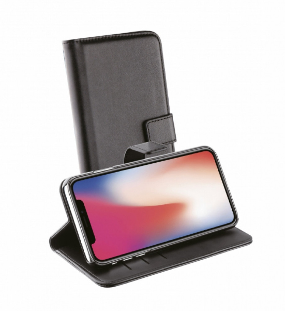 Vivanco Plånboksfodral till iPhone 11 Svart
