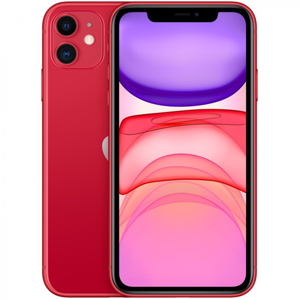 . iPhone 11 128GB Röd