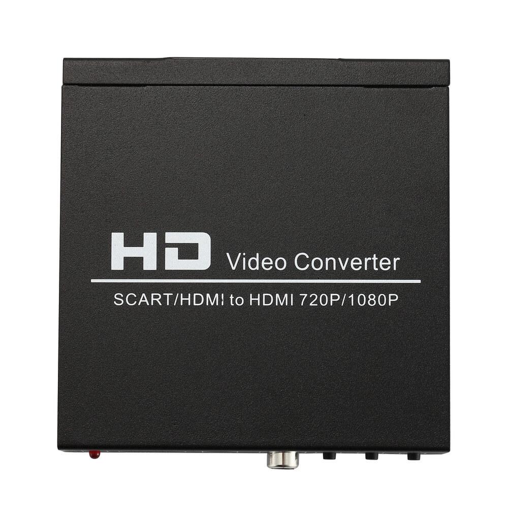 . NORTH SCART+HDMI till HDMI HD Converter och Switch Svart