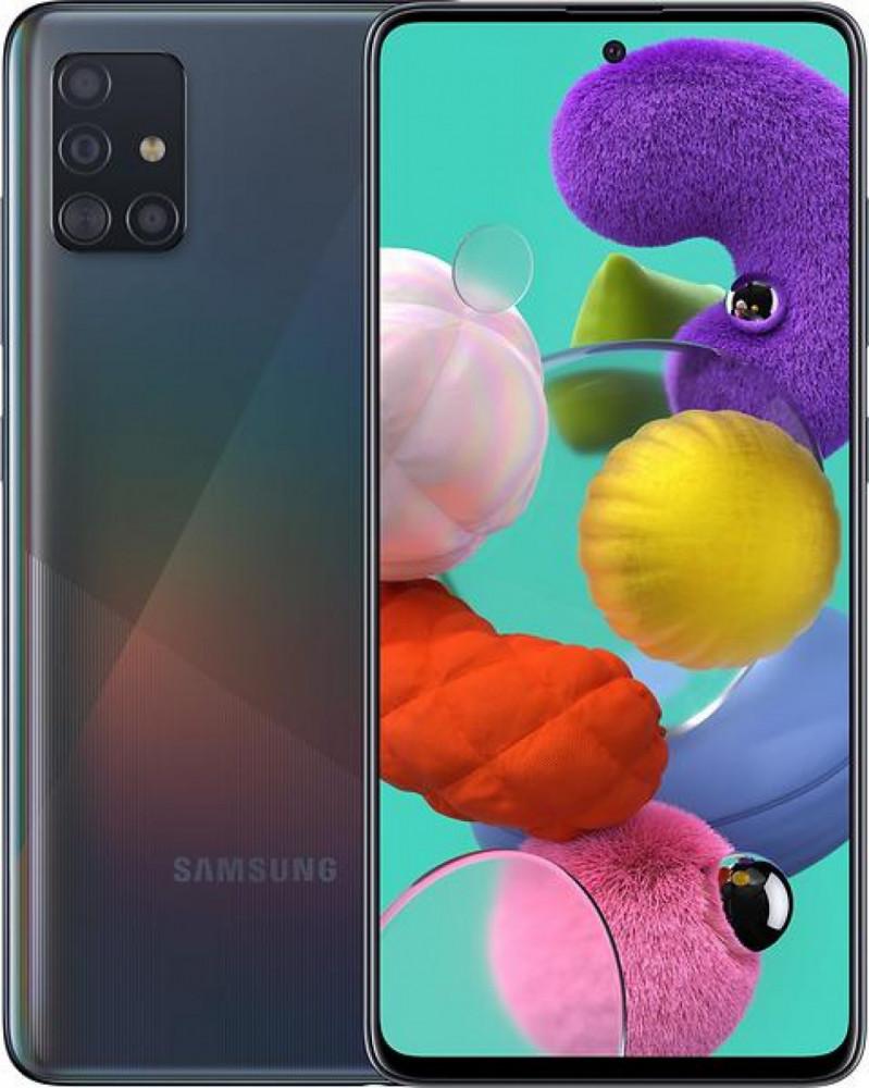 Samsung Galaxy A51 Svart