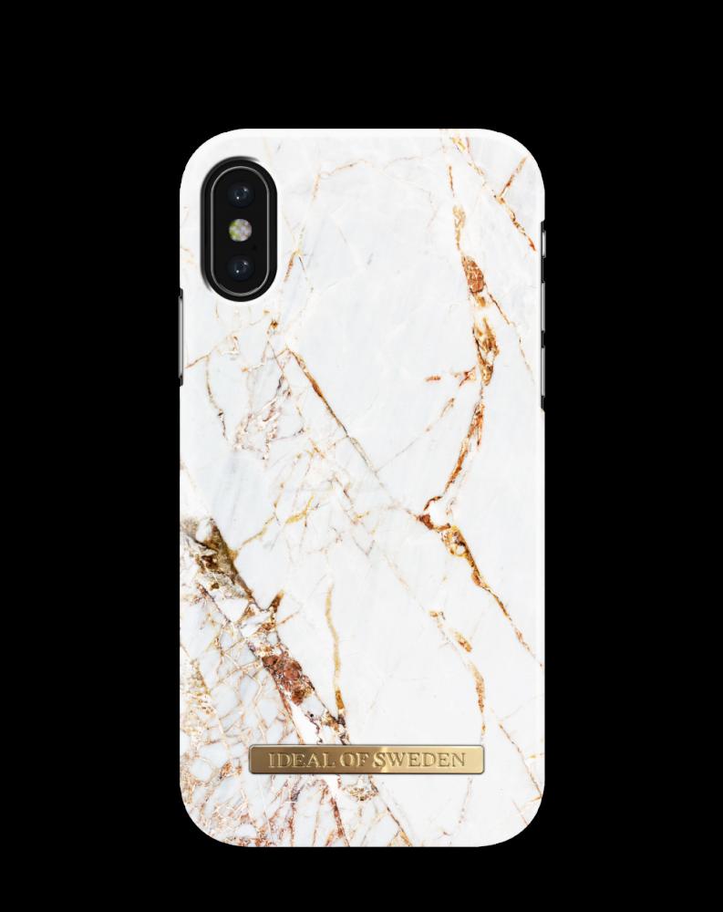 iDeal of Sweden Carrara Gold För iPhone X/Xs