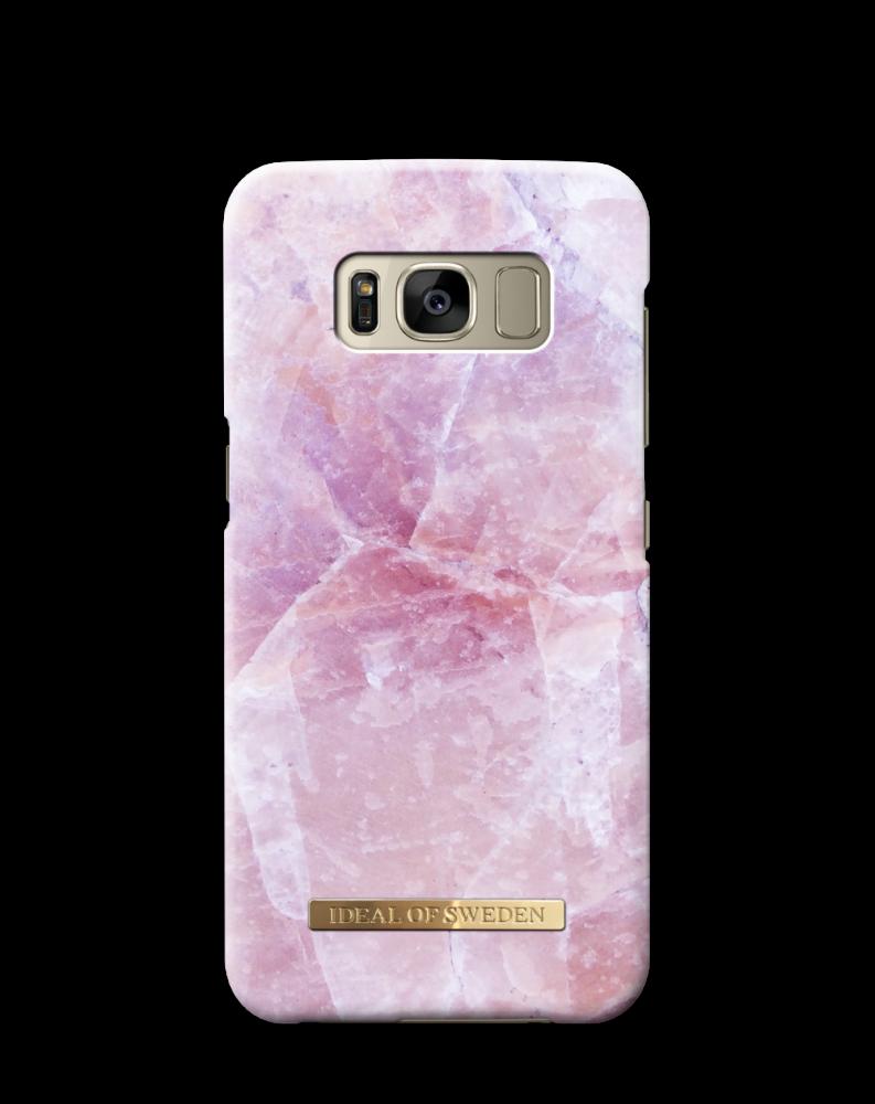 iDeal of Sweden Pilion Pink Marble För Samsung Galaxy S8