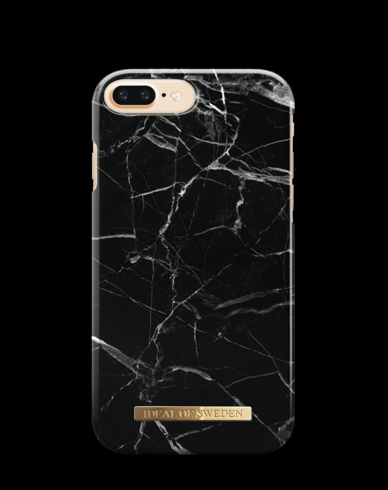 iDeal of Sweden Black Marble För iPhone 8/7/6/6s Plus