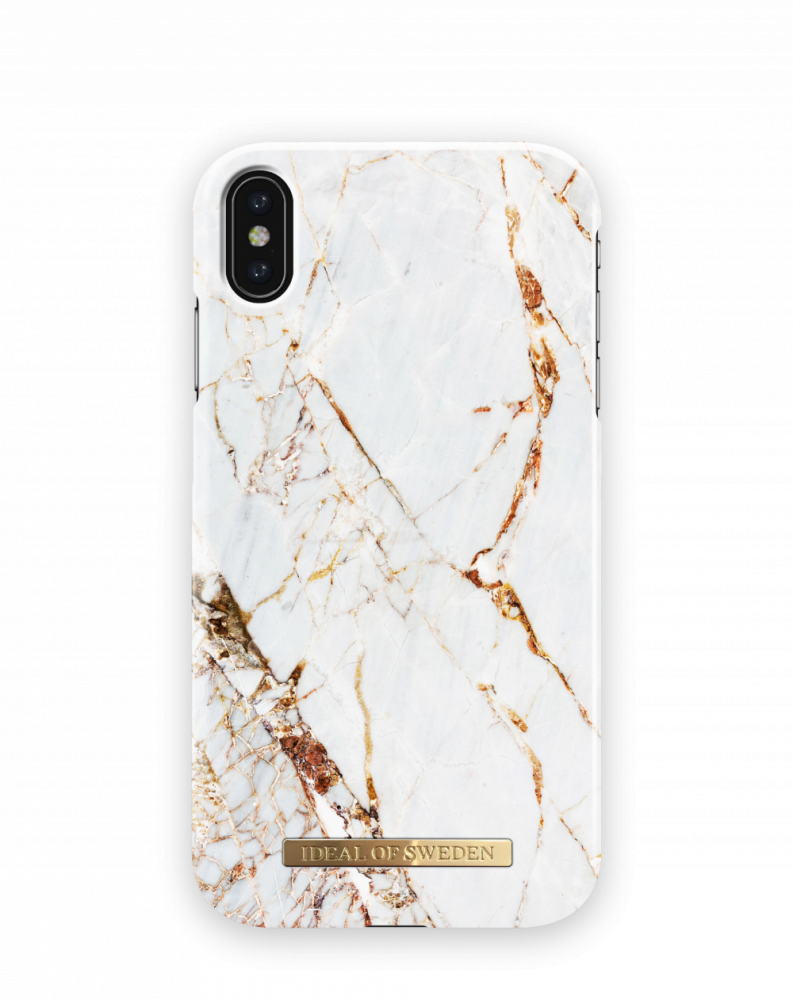 iDeal of Sweden Carrara Gold För iPhone Xs Max
