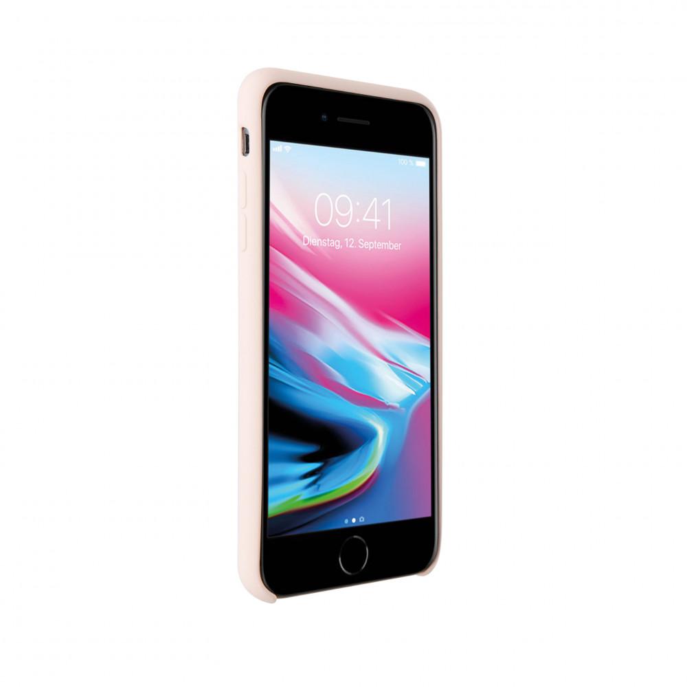Vivanco Silkonskal För iPhone 8/7/6/6S Rosa Sand