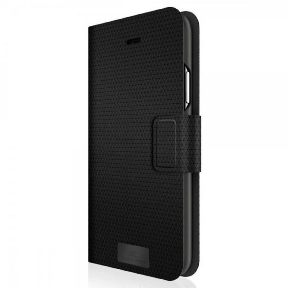 Black Rock 2i1 Plånboksfodral För iPhone 12 / 12 Pro Svart