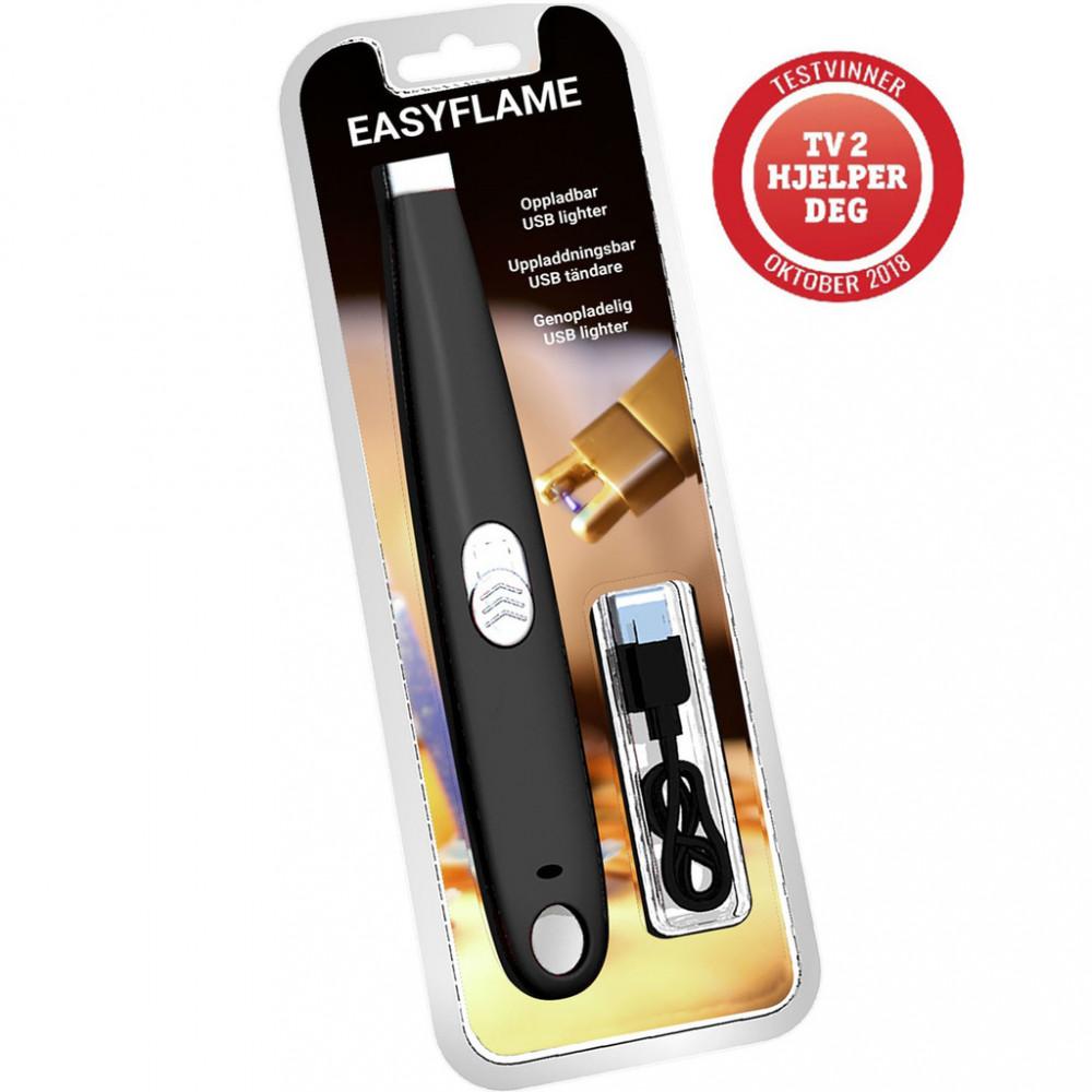 Easyflame Elektrisk Tändare Svart Blist