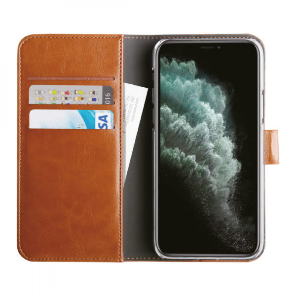 Vivanco Plånboksfodral För iPhone 11 Pro Brun