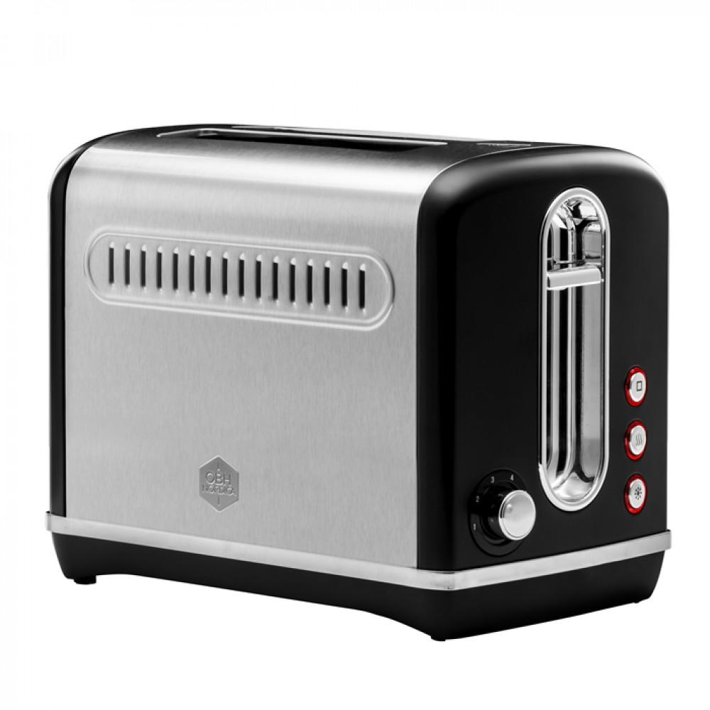 OBH Nordica Legacy Black Toaster
