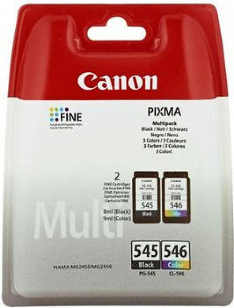 Canon PG-545XL (Svart) + CL-546XL (3-Färg)