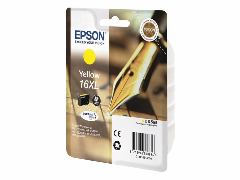 Epson Bläck 16XL Gul