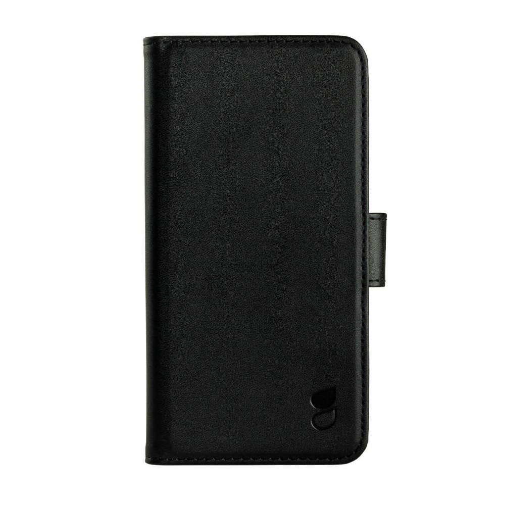 Gear Plånboksväska svart För Huawei Honor 9
