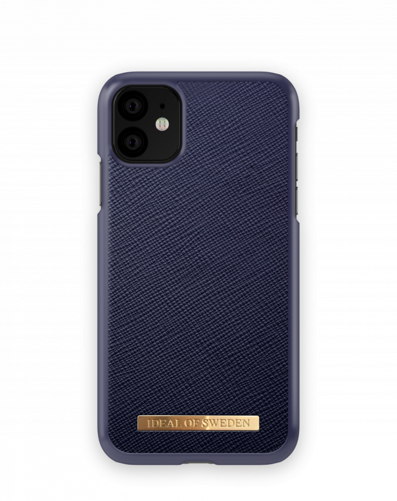 iDeal of Sweden Saffiano Navy För iPhone 11/XR