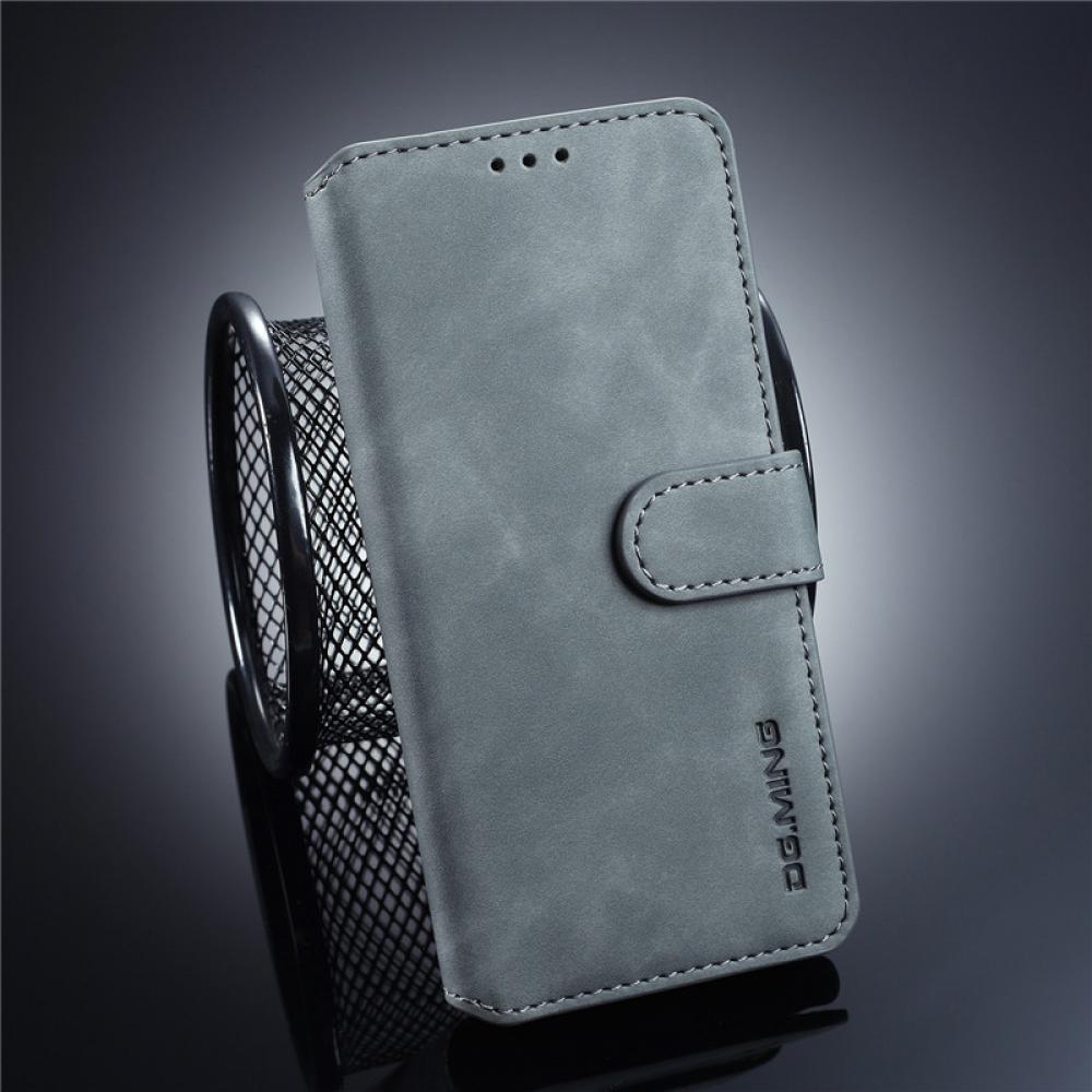 . DG.MING Leather Wallet För Galaxy S10