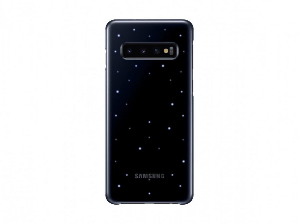 Samsung LED Cover För Galaxy S10 Svart