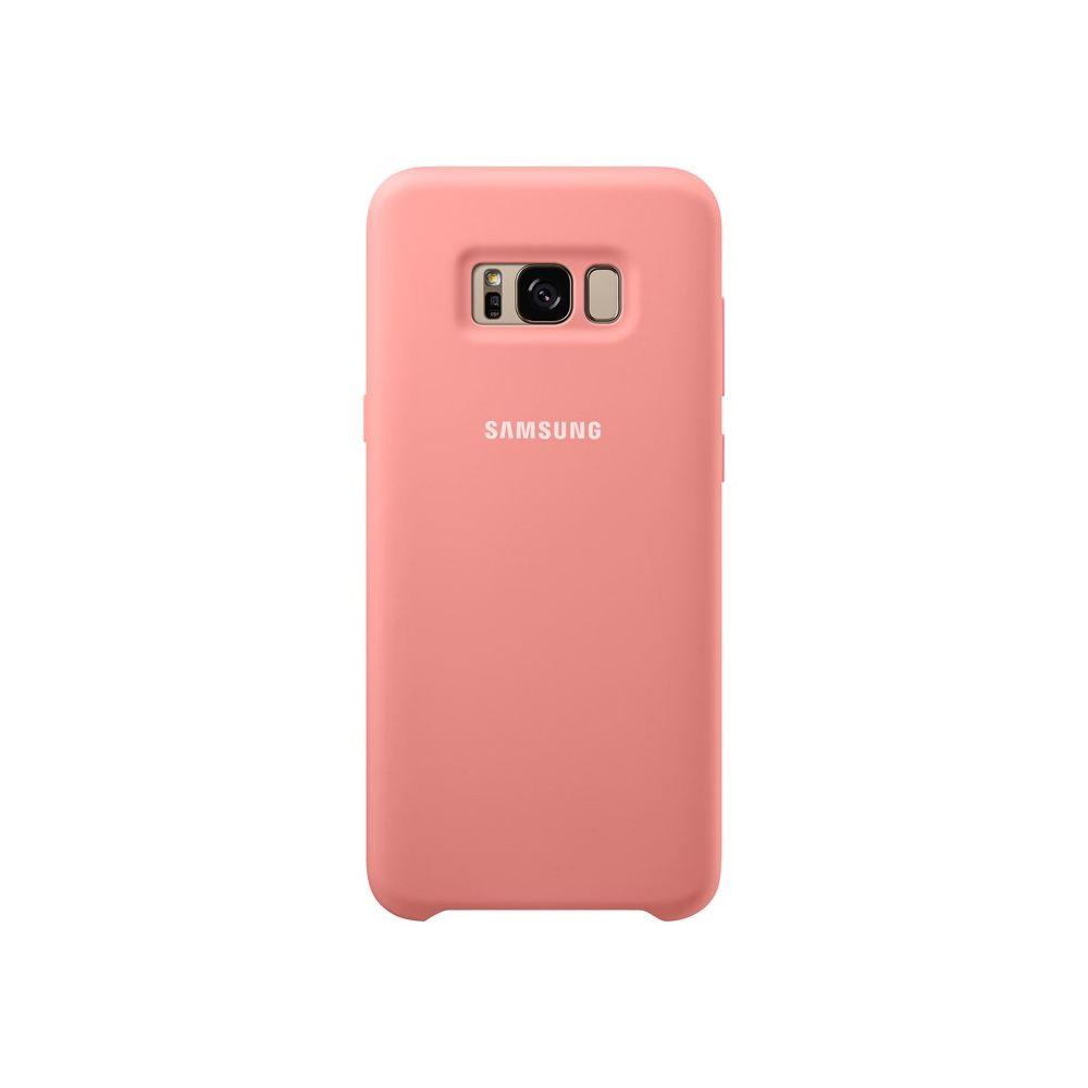 Samsung Silicone Cover För Galaxy S8 Rosa