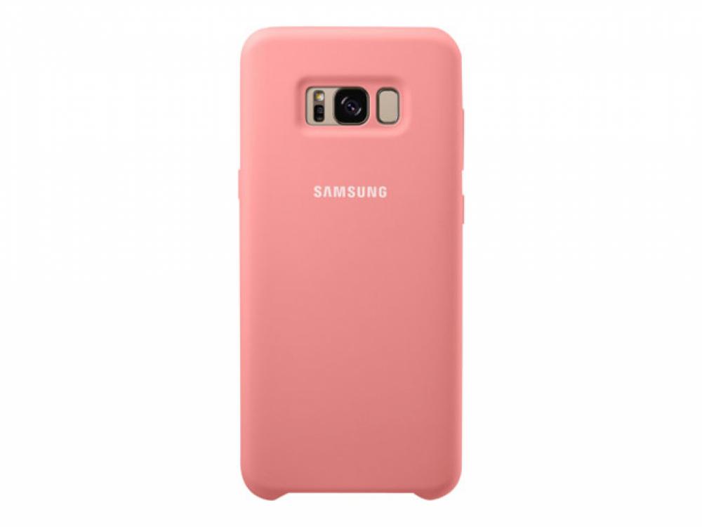Samsung Silicone Cover För Galaxy S8+ Rosa
